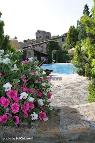 Palazzo del Gastaldo - Il Gastaldo - Montelovesco - Wohnung