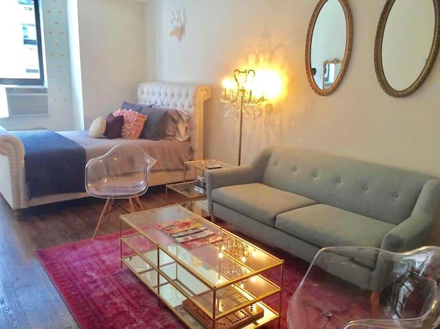 Gorgeous Trendy Studio Near Flat Iron Building - New York - Lägenhet