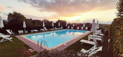 Villa Mimosa, nelle vigne di Montecarlo