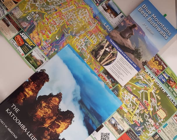 Maps and walking books to help you explore the local area