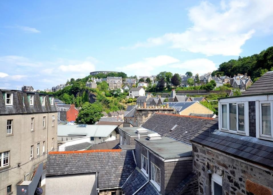 Fantastic views of iconic McCaig's tower