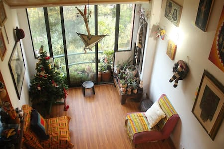 Quiet artist home, great views, in great location - Bogotá  - อพาร์ทเมนท์