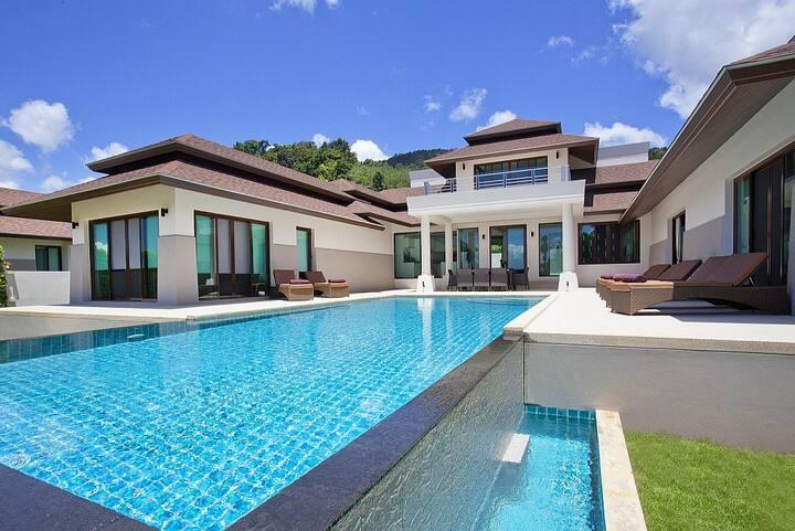 Koh Chang Wave Villa A | 4 Bed Pool Home Koh Chang