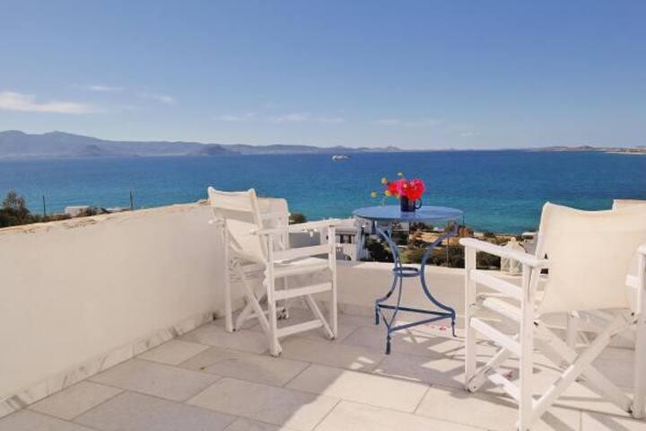 Balcony in Aegean
