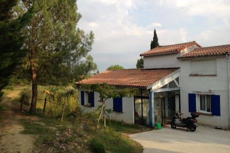 maison provençale à 10 min Toulouse - Montastruc-la-Conseillère