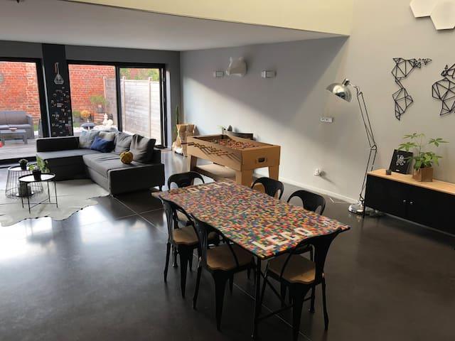 Magnifique loft moderne en plein cœur de Tourcoing