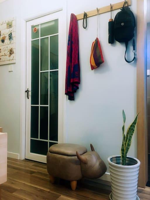 小而美的室内打造,舒适随意。
