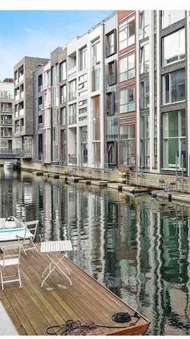 Waterfront apartment - Little Amsterdam - Cph