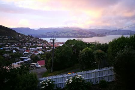 The sweet life high on the hill - Lyttelton