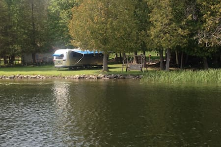Airstream Rental on Six Mile Lake - East Jordan