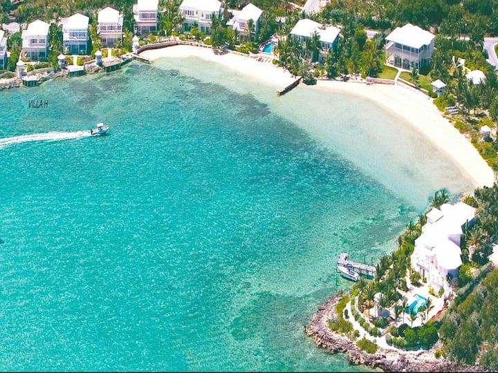 5 star oceanfront villa at FP includes marina slip