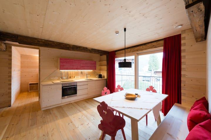 House Giatla, Apartment Berg, in Tyrol, Austria