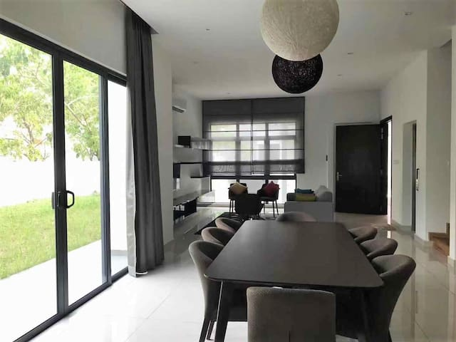 Living Room and Dining Table area on 1st Floor