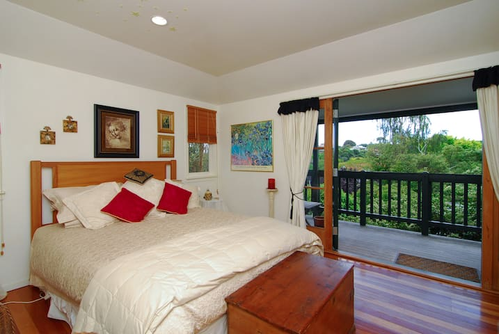 Room with a view in a tranquil setting - Havelock North - House