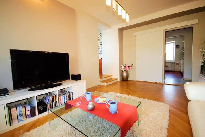 Nadstandartně vybavený byt 2+1 v blízkosti BVV