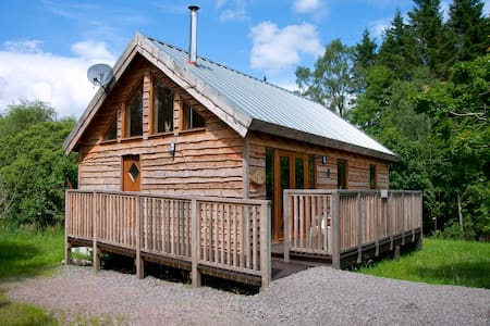 Oak Log Cabin, with hot tub - Argyll and Bute - Cottage