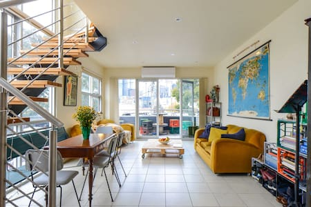 Eclectic and Luxury; market living in the CBD - West Melbourne - Stadswoning