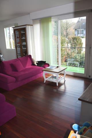 Chambre privée dans maison à 20 minutes de Paris. - Herblay - Hus