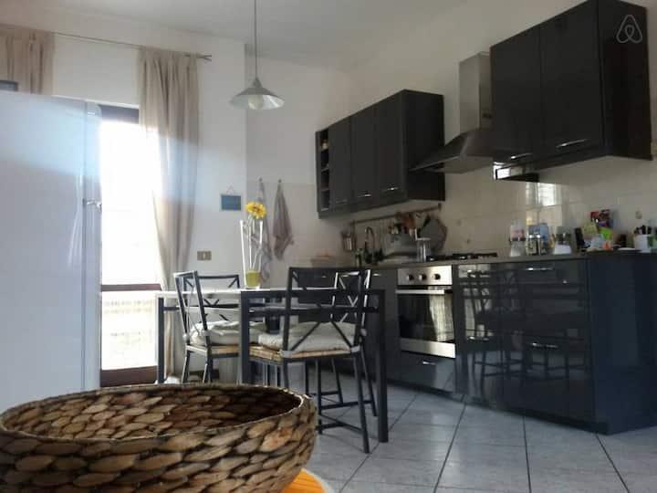 Vicino Piacenza, Appartamento centro Carpaneto