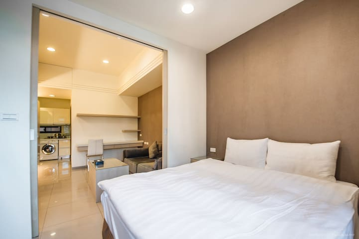 Deluxe classic apartment[805] - Zhongshan District - Appartement