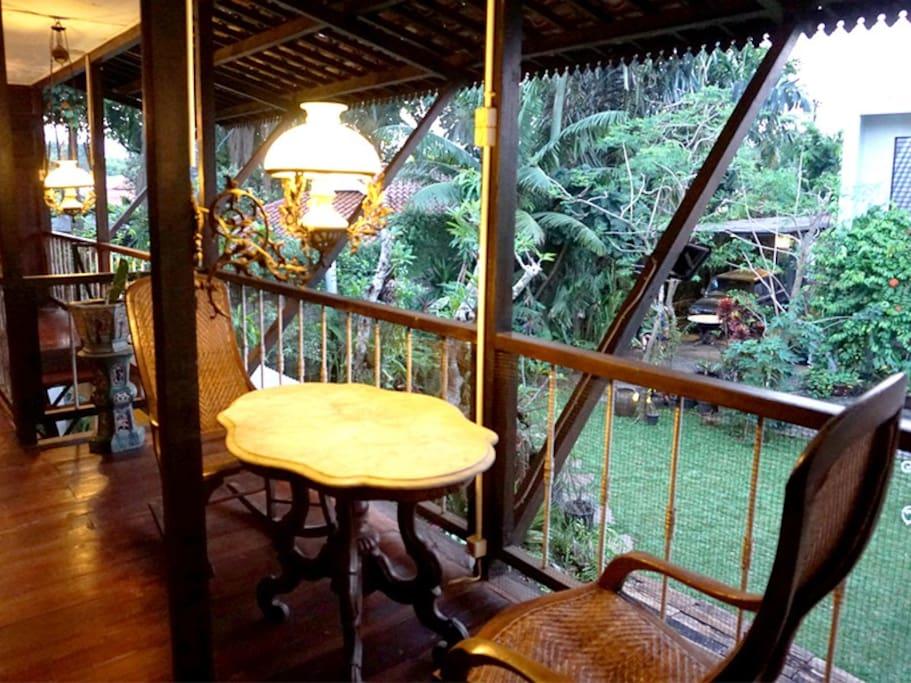 Java Room Balcony