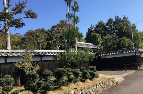 A  Japanese style house for group staying.
