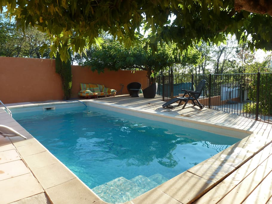 piscine 7m par 3m profondeur 2m au max