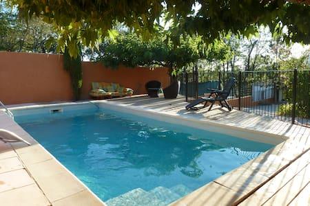 Maison de Provence + piscine proche Mont Ventoux - Mormoiron - Casa