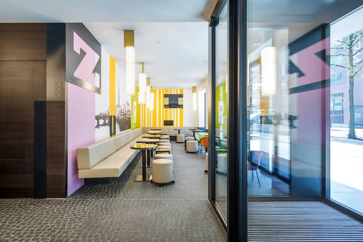 Hippes 4* Hotel im Trendquartier - Einzelzimmer