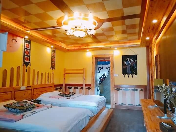 香格里拉达吉林卡藏文化主题度假客栈