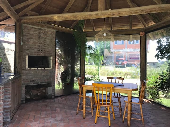 Apartamento individual com vista canela/gramado