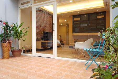 5min MRT@Shilin BrandNew Garden GroundFloor for1-8