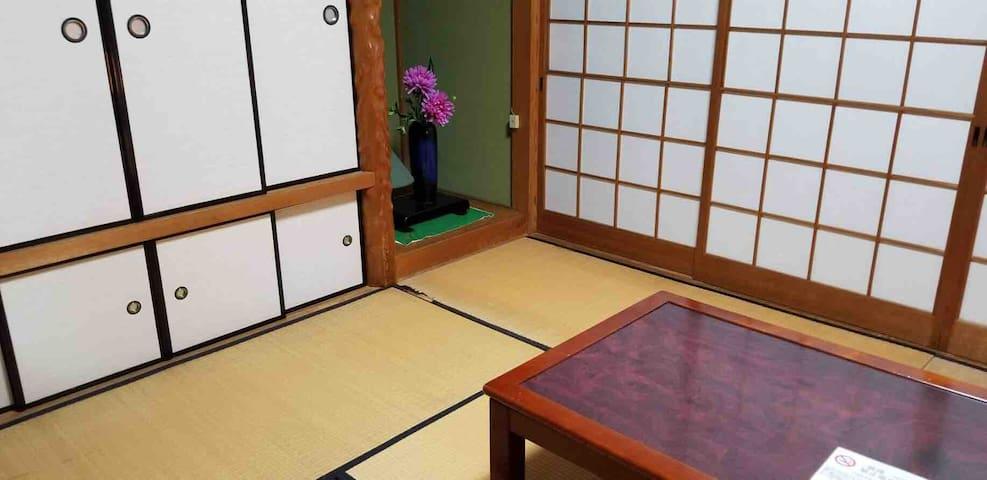 O宿(まるやど)MARUYADO 壱号室和室 熊本港から車で5分、市街地まで20分、無料駐車場完備