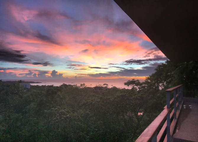 Center of Tamarindo ★ Waterfall House ★ Pano Views