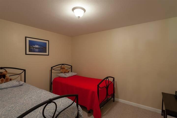 Bonus lower level bedroom