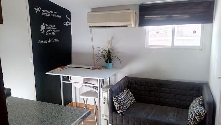 functional studio in Lavapies  neighborhood