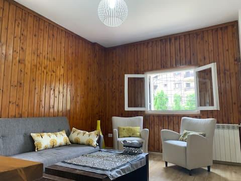 More Than a Cozy Duplex Faraya Chalet with Balcony