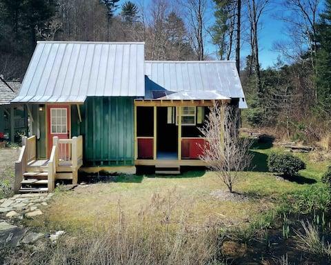 Tiny Cabin by Lake Glenville