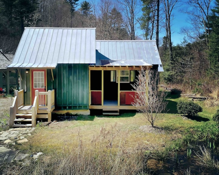 Tiny Cabin by Lake Glenville