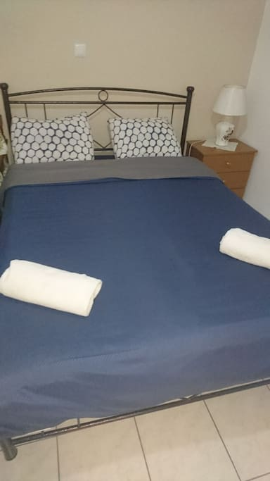 New Double size bed.