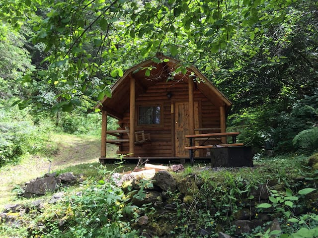 Bilbo Baggins Cabin by Lake Cd'A :) - Coeur d'Alene - Cabana