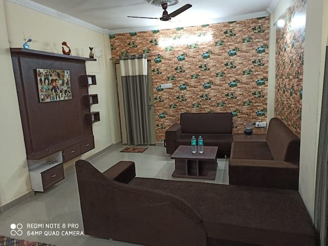 2 BHK fully furnished Flat