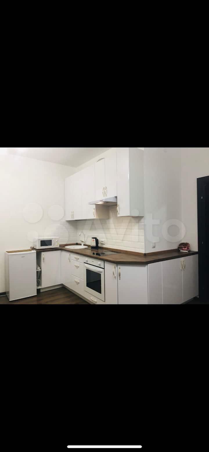 Квартира-студия 30 м2, 6 этаж, на любой срок!