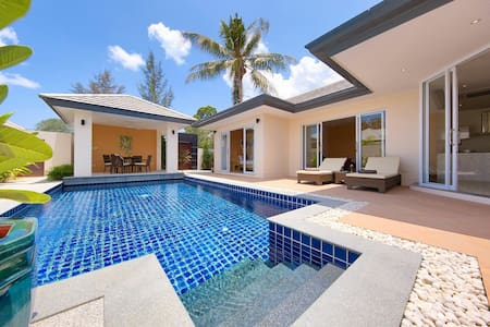 Private and luxurious 2bed villa with own pool