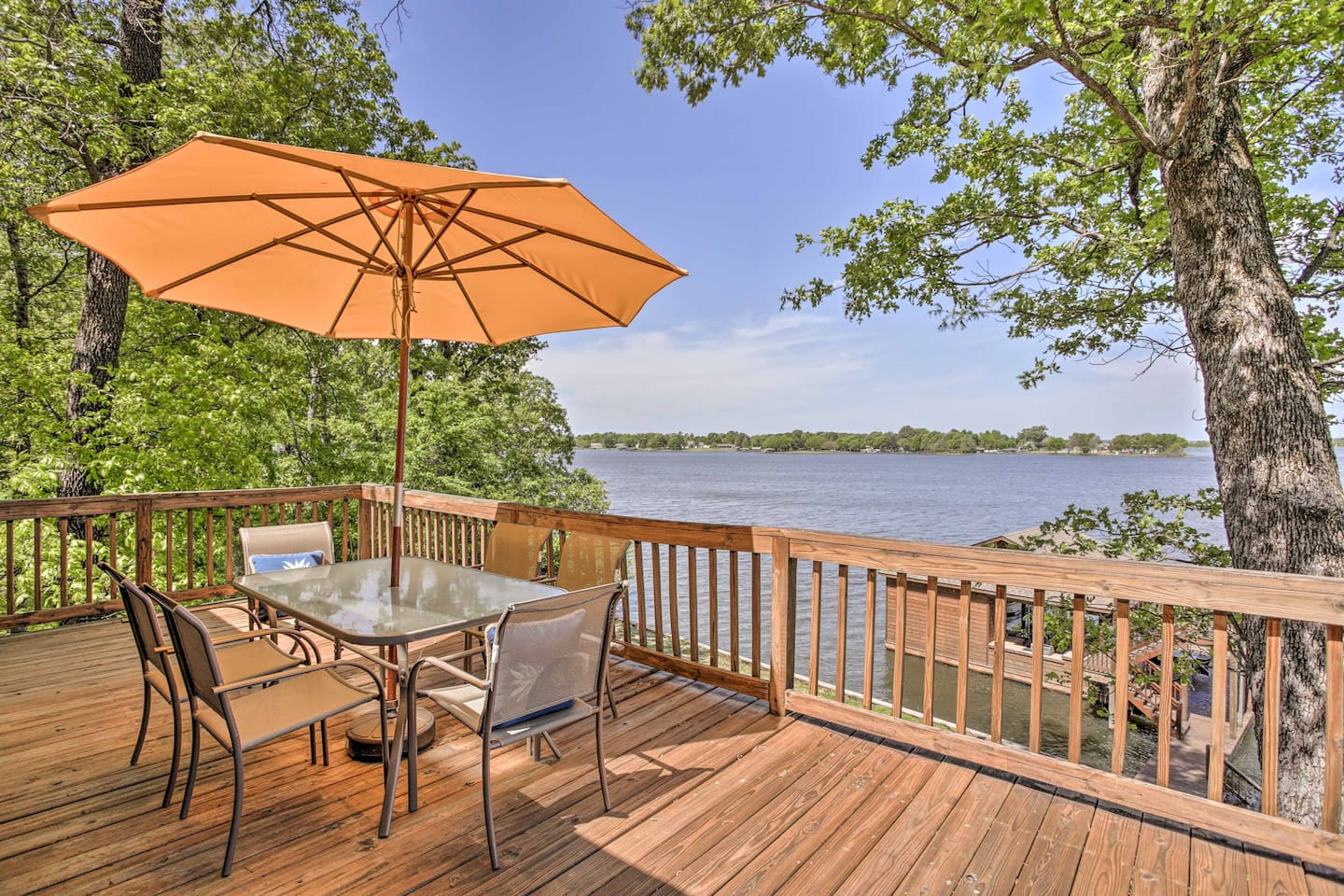 Leave your stress behind and stay at this vacation rental home in Pittsburg.