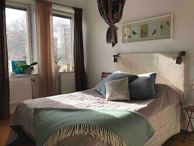 2 room apartment, 10 min to City!
