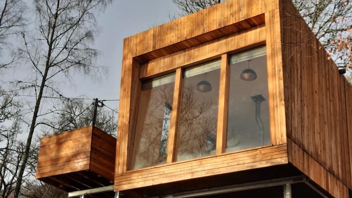 Lochawe Luxury Eco Cabins - Osprey's Lookout