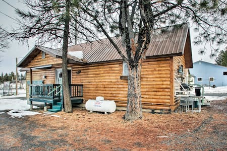 NEW! Winchester Lake Cabin: Hunting/Fishing Haven!