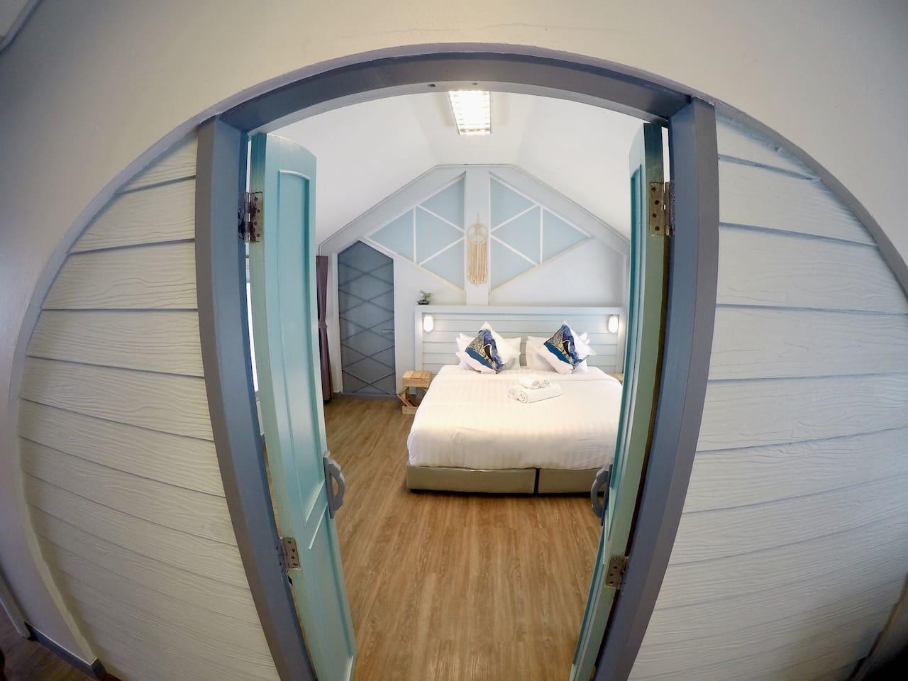 One Bedroom-Master Bedroom
