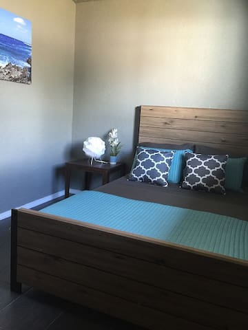 Bedroom #3 Full/Double Bed with Memory Foam Mattress